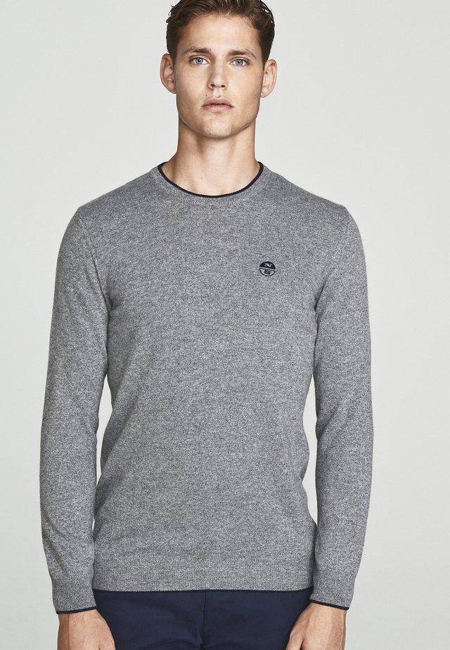 Trui - medium grey melange