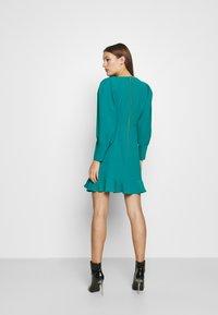 Closet - PEP HEM PENCIL DRESS - Shift dress - blue - 2