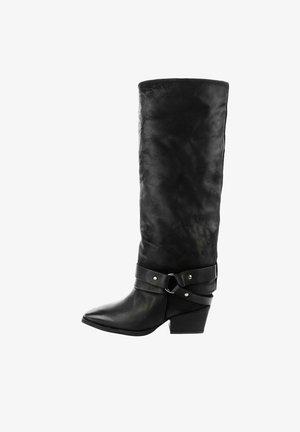 MAROTTO - Cowboy/Biker boots - black