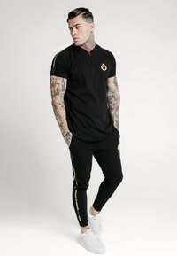 SIKSILK - BASEBALL - Print T-shirt - black - 1