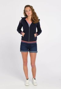 J&JOY - veste en sweat zippée - blauw - 1
