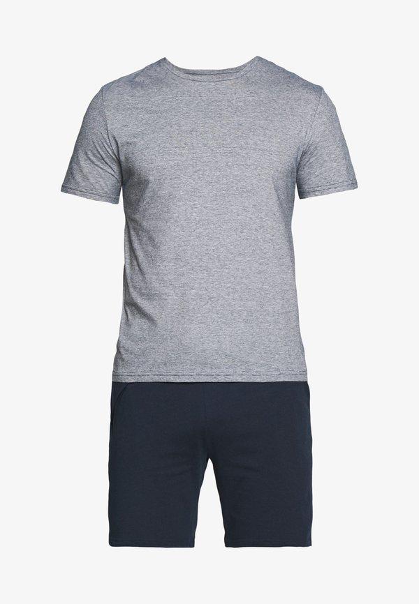 Pier One Piżama - dark blue/granatowy Odzież Męska JJQN