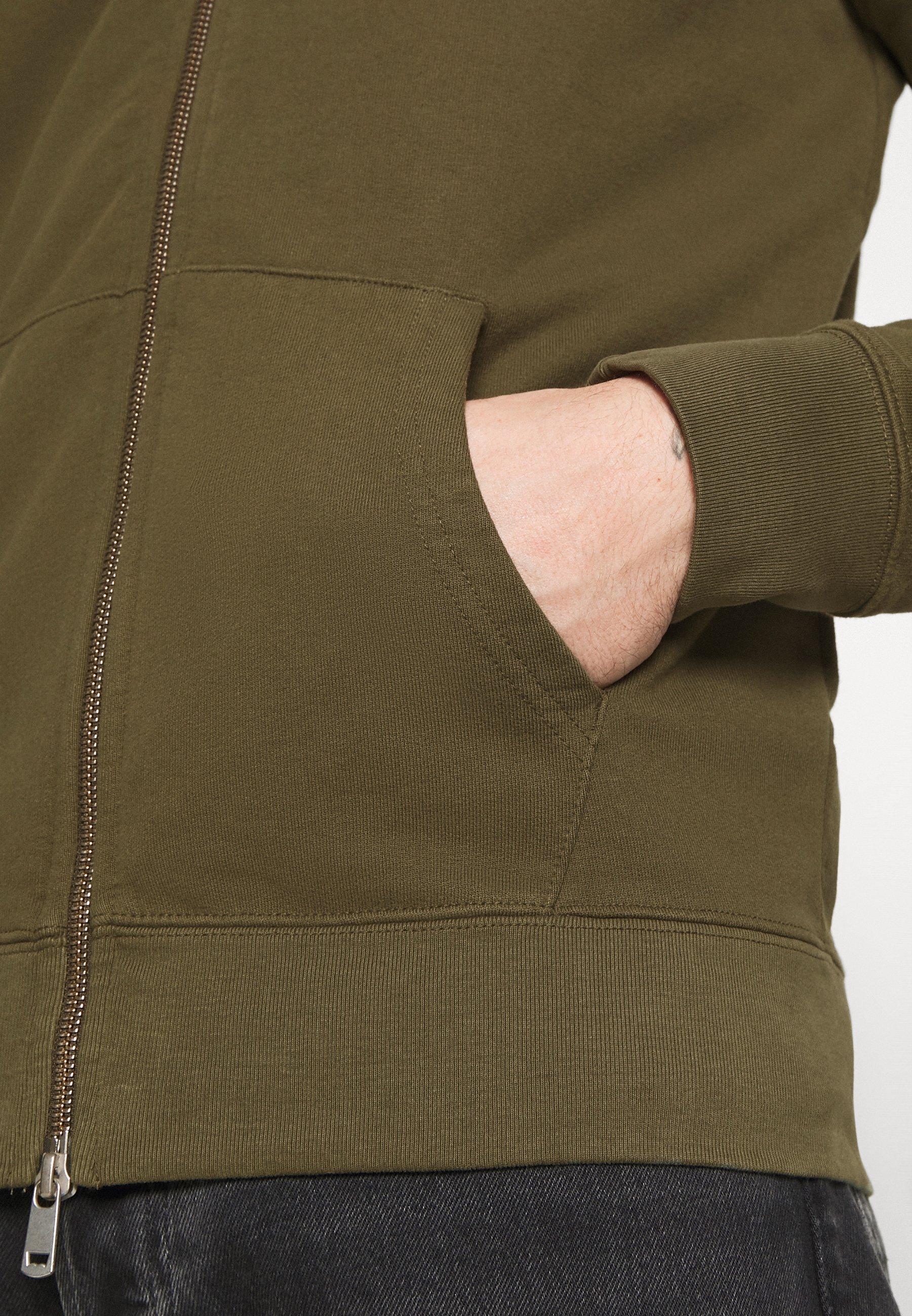 Levi's® New Original Zip Up - Hettejakke Olive Night/oliven