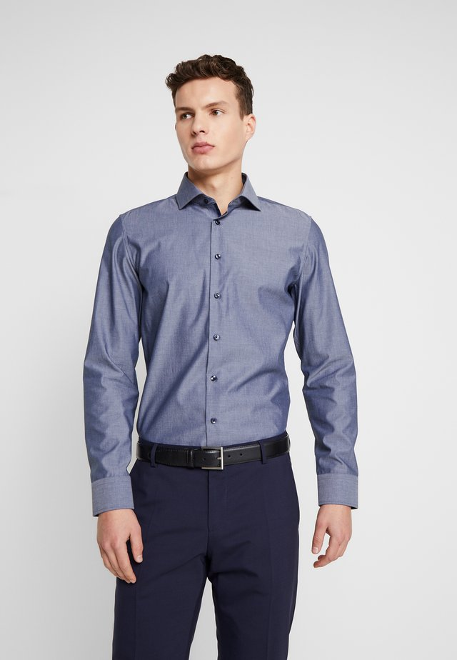 SLIM FIT SPREAD KENT - Formal shirt - dark blue