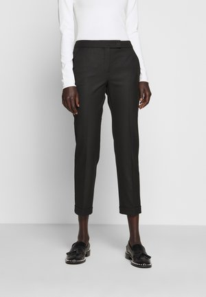 MONOPOLI - Spodnie materiałowe - black