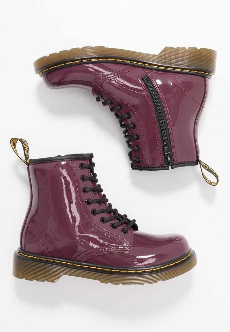 Dr. Martens - 1460 J PATENT - Lace-up ankle boots - plum