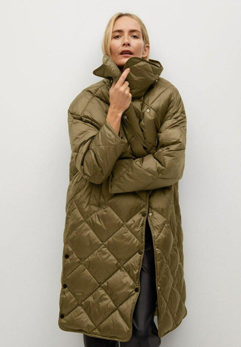 Mango - CROCO - Winter coat - khaki