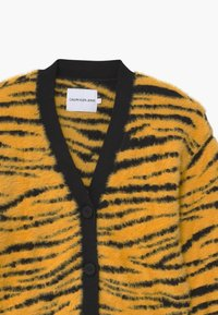 Calvin Klein Jeans - URBAN ANIMAL FLUFFY - Vest - yellow - 2