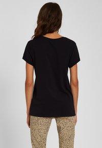 Volcom - STONE BLANKS TEE - Basic T-shirt - black - 2