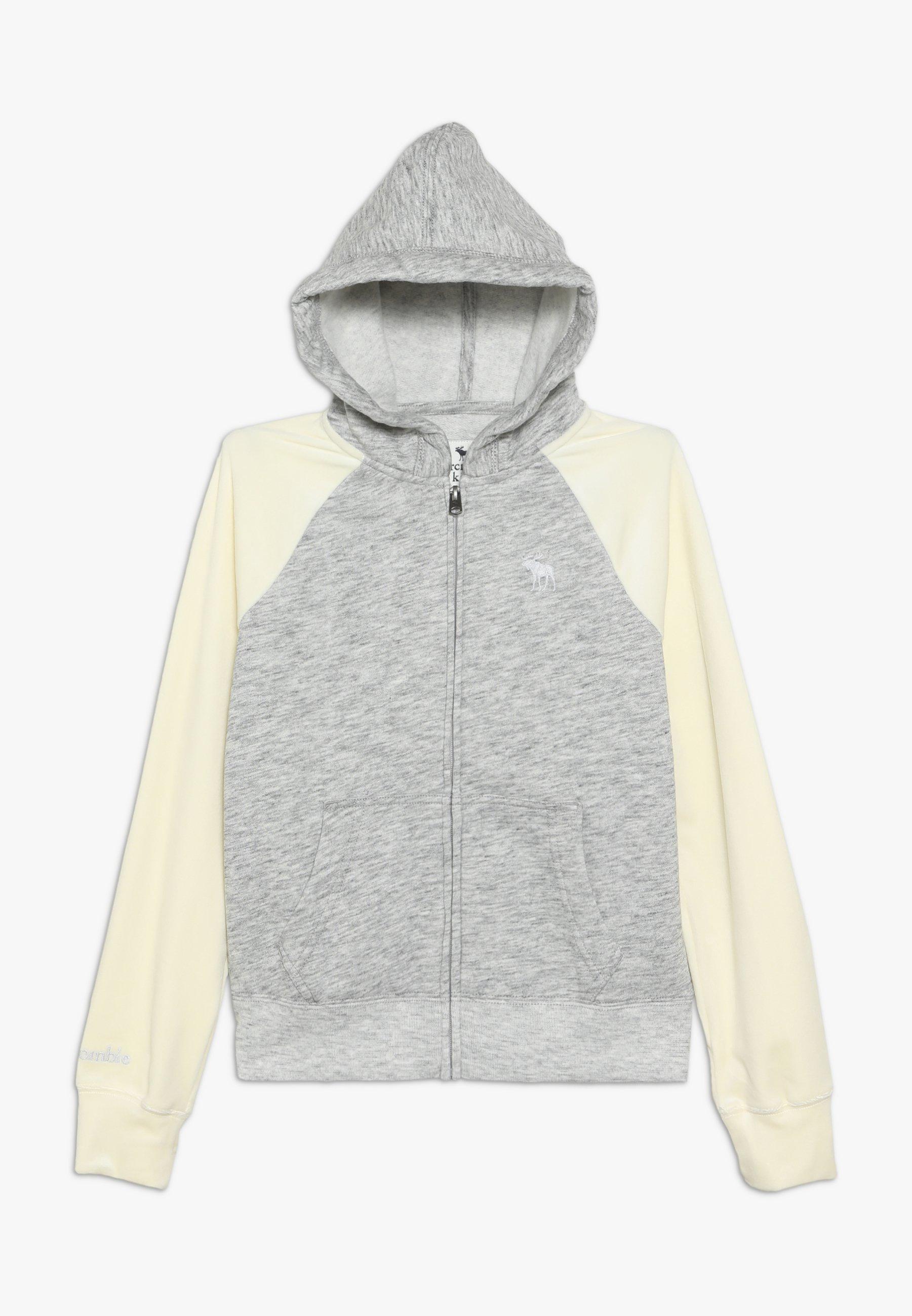 Große Förderung Abercrombie & Fitch CORE - Sweatjacke - grey | Damenbekleidung 2020