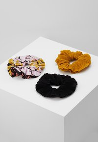 Even&Odd - 3 PACK - Hair styling accessory - black/multicoloured - 0