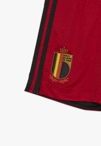 adidas Performance - BELGIUM RBFA HOME SHORTS - Korte broeken - collegiate red - 3