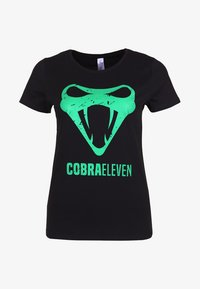 COBRAELEVEN - Print T-shirt - black - 2