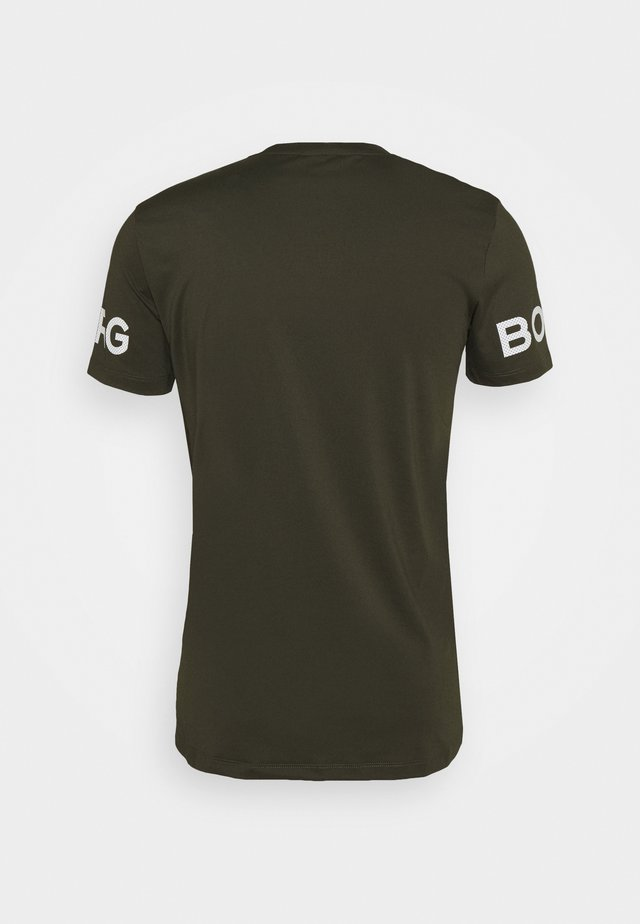 BORG TEE - T-shirt imprimé - rosin