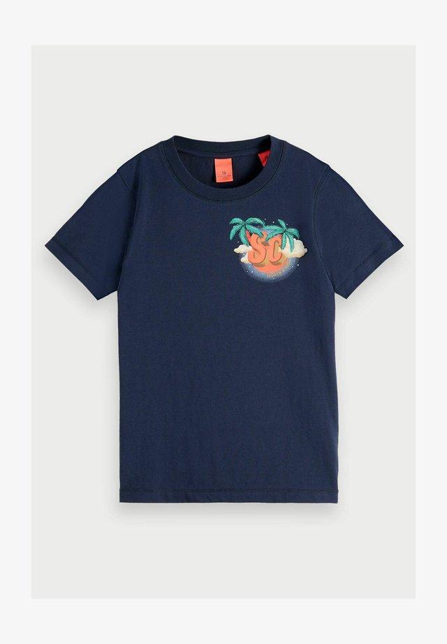 T-shirt print - night