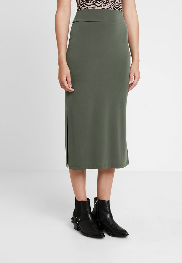 Maxi sukně - khaki