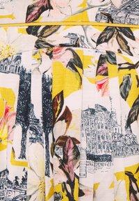 Thought - EL AUDAZ FLARED SKIRT - A-line skirt - lemon yellow - 2