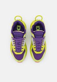 Diesel - SERENDIPITY - Trainers - yellow/purple - 5