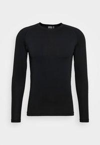 Cross Sportswear - ARMOUR - Koszulka sportowa - black - 4