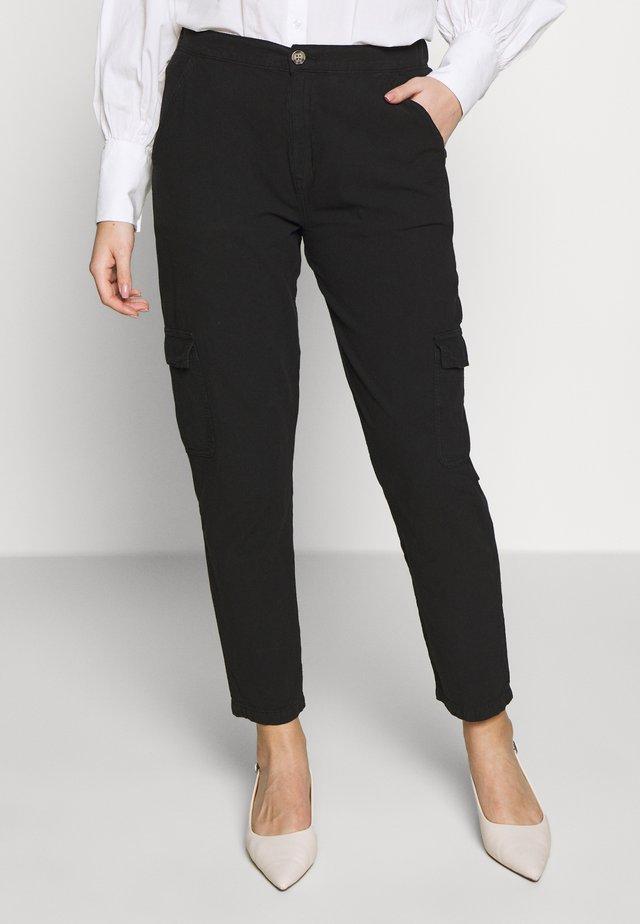 KATE PANTS - Pantalon classique - black