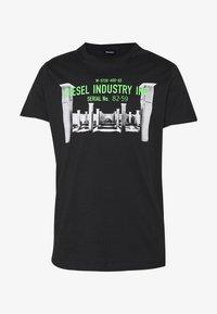 DIEGO - Print T-shirt - black