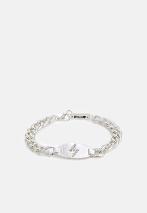 LIGHTNING BOLT BRACELET - Rannekoru - silver-coloured