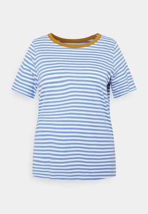 T-shirts med print - marina white