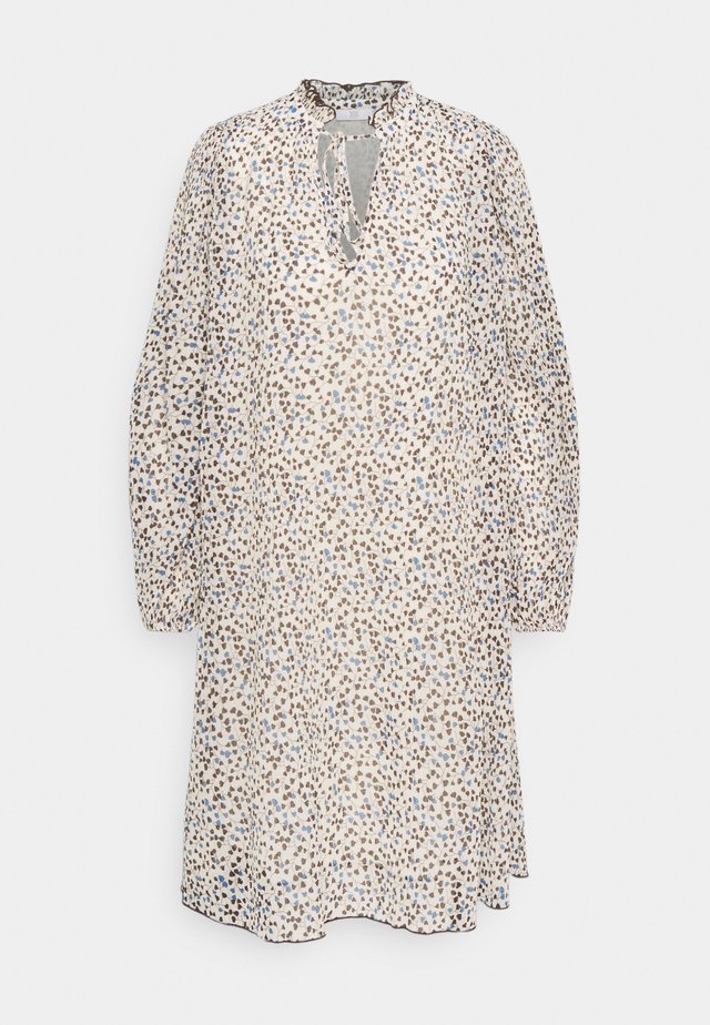 Korte jurk - topaz