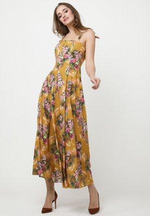 VERBA - Korte jurk - senf, rosa