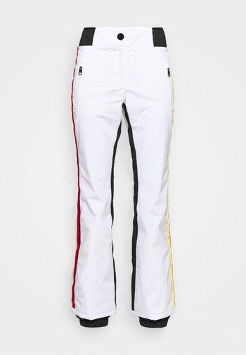 JUDY - Spodnie narciarskie - white