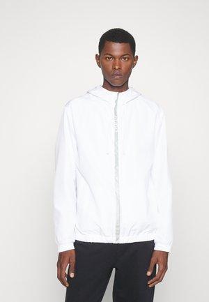 UNISEX - Summer jacket - white/silver