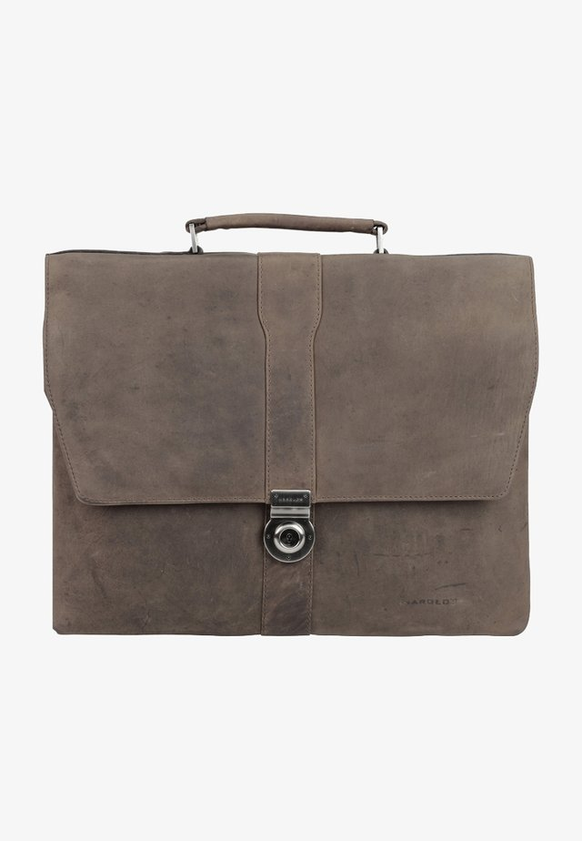 ANTIK - Briefcase - taupe
