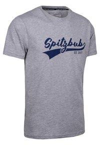 Spitzbub - JULIUS - Print T-shirt - grey - 2