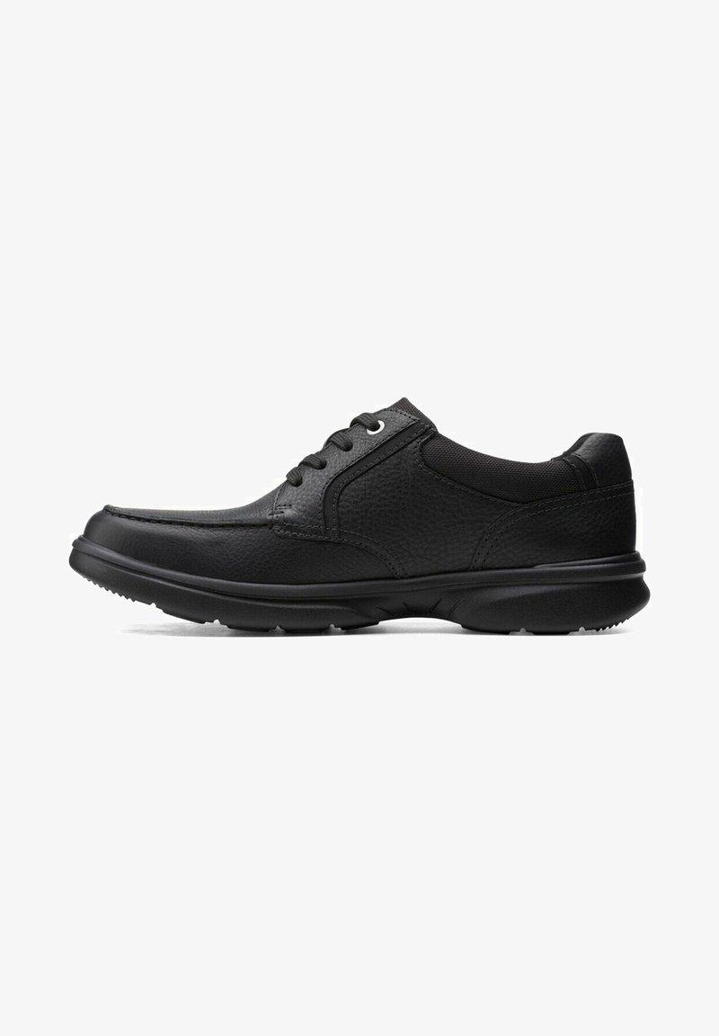 Clarks - BRADLEY VIBE - Sneakers laag - black leather