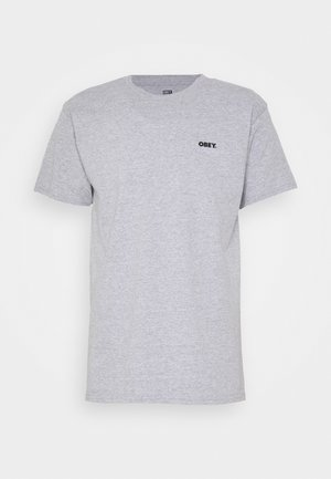 ALL THAT MATTERS - Print T-shirt - heather grey