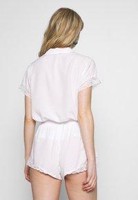 Pour Moi - SPOT MIX REVERE COLLAR - Pyjamasoverdel - white - 2