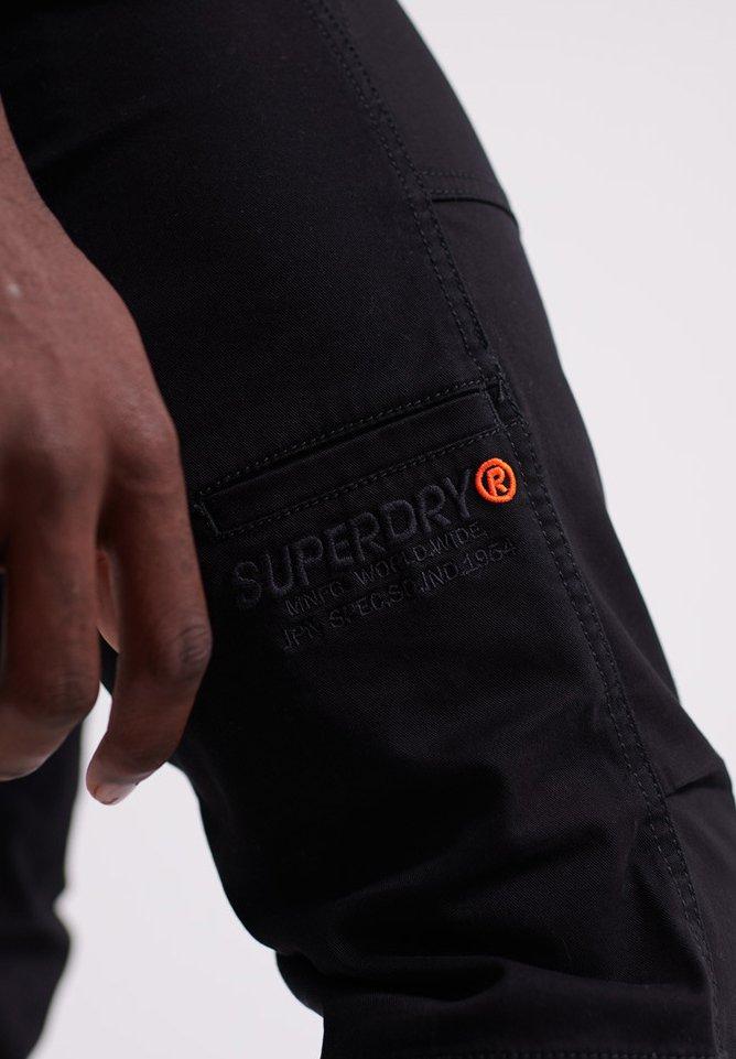 Superdry CORE UTILITY-HOSE - Pantalon classique - black