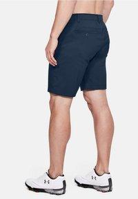 Under Armour - Sports shorts - blue/dark grey - 1