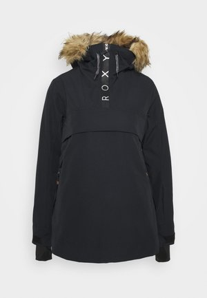 SHELTER - Snowboardjacke - true black