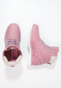 KangaROOS - RIVETER  - Lace-up ankle boots - pink - 2