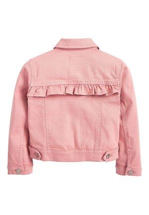 DENIM FRILL JACKET (3-16YRS) - Denim jacket - pink