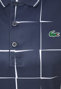 Lacoste Sport - DH2052 - Koszulka polo - navy blue/white - 2