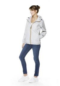 K-Way - UNISEX LE VRAI CLAUDE - Zip-up hoodie - grey mid - 1