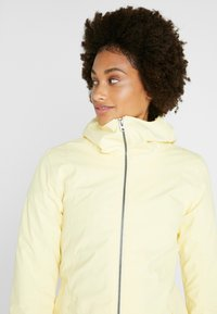 Didriksons - FOLKA WOMEN'S - Waterproof jacket - light yellow - 3