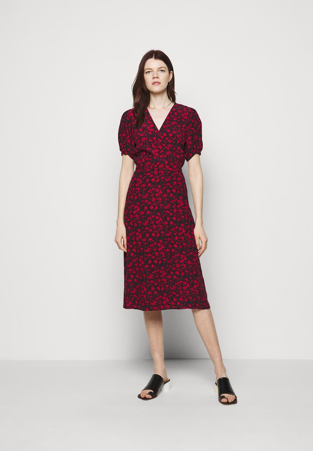 SUMAIA WRAP MIDI DRESS - Maxi šaty - uma
