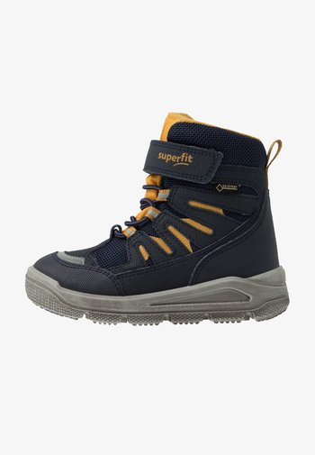 MARS - Winter boots - blau/gelb