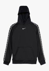 Nike Sportswear - B PK  TAPE - Hoodie - black/white - 0