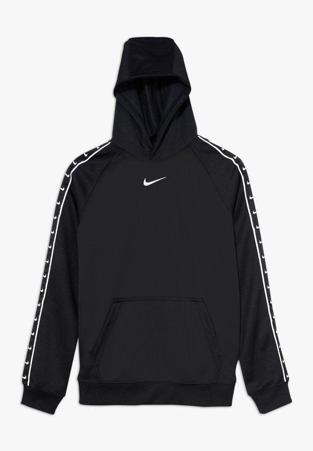 B PK  TAPE - Jersey con capucha - black/white