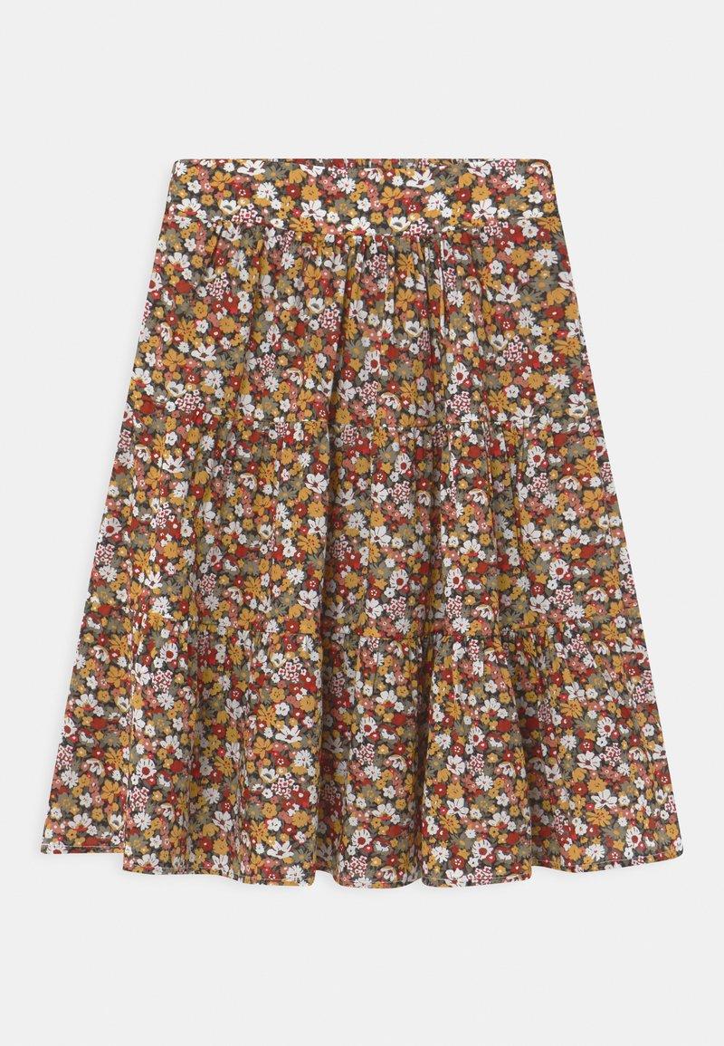 Name it - NKFHISSINE MIDI  - A-line skirt - ivy green