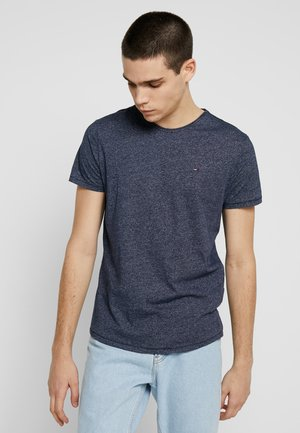 ESSENTIAL JASPE TEE - Basic T-shirt - blue